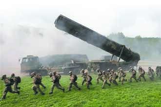 強化火箭軍 三年擴充逾三成