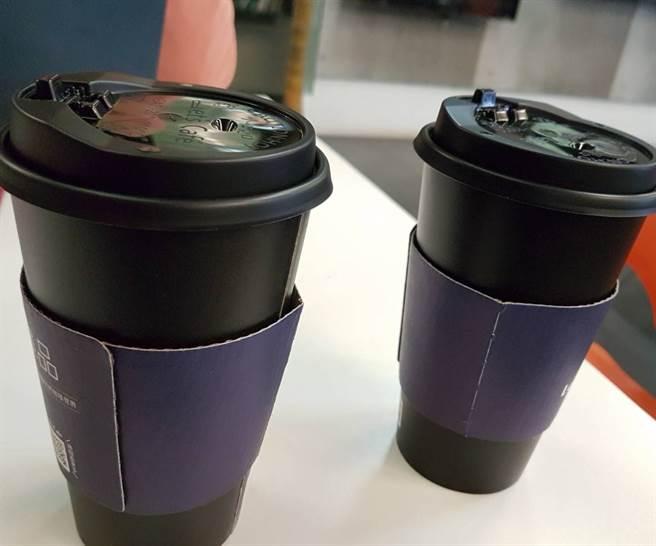 超商各顯神通,三不五時推出咖啡特價好康,讓上班族揪團買爆。(徐秀娥攝)