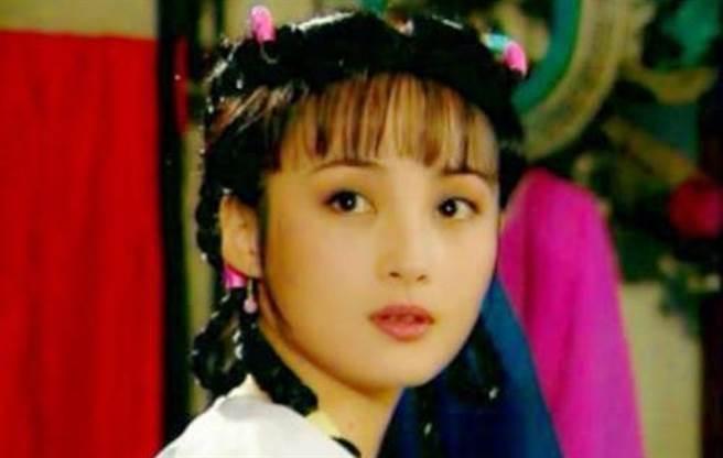 蒋勤勤22岁演《苍天有泪》打开知名度。(图/微博)