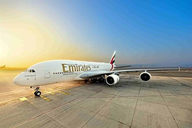 (阿聯酋航空將在12月迎接三架全新A380客機。圖/業者提供)