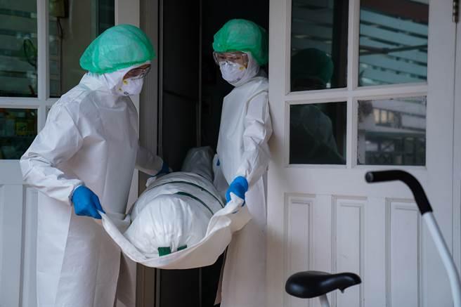 日本大阪醫療拉警報 武漢肺炎患者等嘸病床死亡。(示意圖/達志影像shutterstock提供)