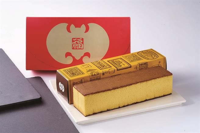 新光三越獨家、初登場,福砂屋長崎蛋糕禮盒,美麗台直購,1200元。(新光三越提供)