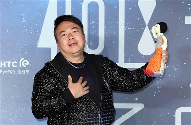 董至成返回台灣重啟演藝事業。(圖/本報系資料照片)