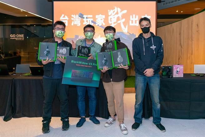 《戰車世界》2020年末玩家聚會,台灣玩家戰出來!冠軍隊伍-我只是為了拿7500金。(圖/戰遊網提供)