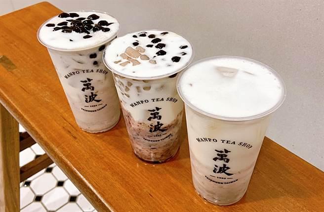 「蜜芋頭珍珠鮮奶」加入Q彈波霸擄獲了不少手搖控的心。(圖/楊婕安攝)