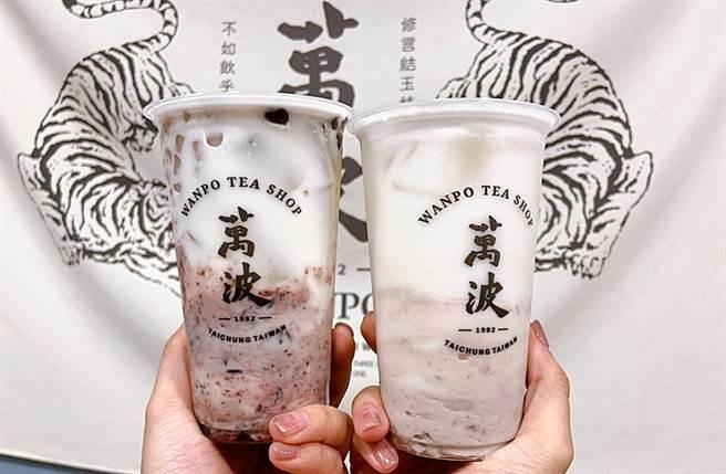 今年2大王牌跟與「紫米芋芋椰奶」一同回歸,芋頭控們絕對要手刀喝起來!(圖/楊婕安攝)