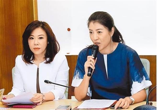 国民党副秘书长李彦秀(左)、国民党立委许淑华(右)。(图/本报资料照)