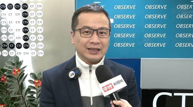 台北市議員羅智強。(圖/邱子軒攝)
