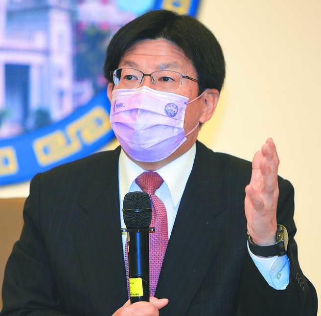 針對台北市長柯文哲因「器捐案」遭監委約談影片洩漏一事,約詢他的監委高涌誠昨出面強調,洩密與他完全無關。(季志翔攝)