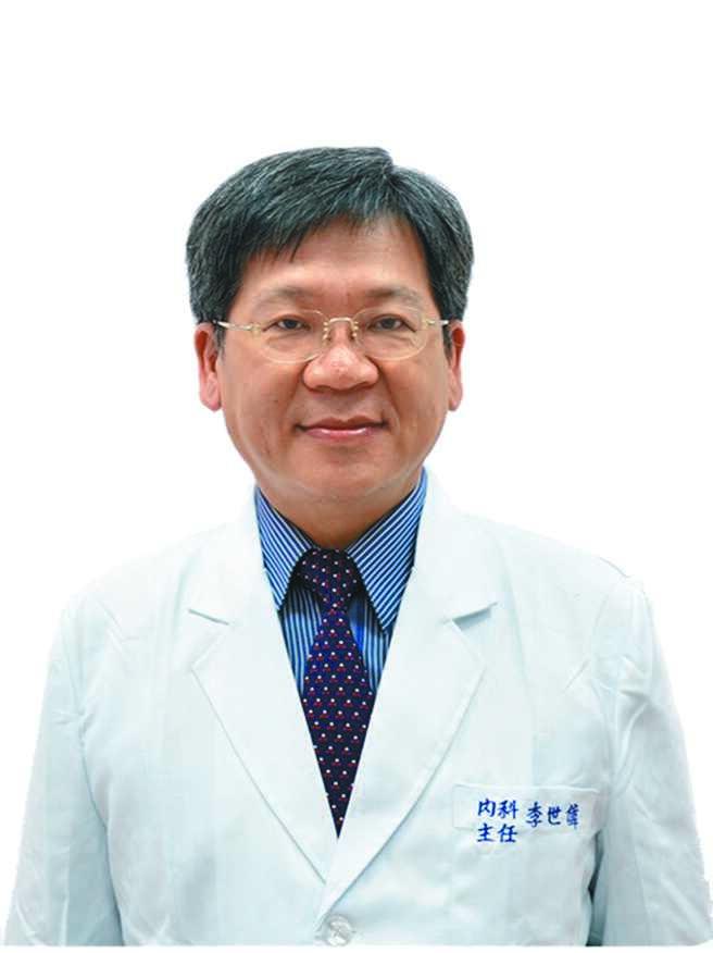 桃园医院胸腔科主任李世伟。(李世伟提供)