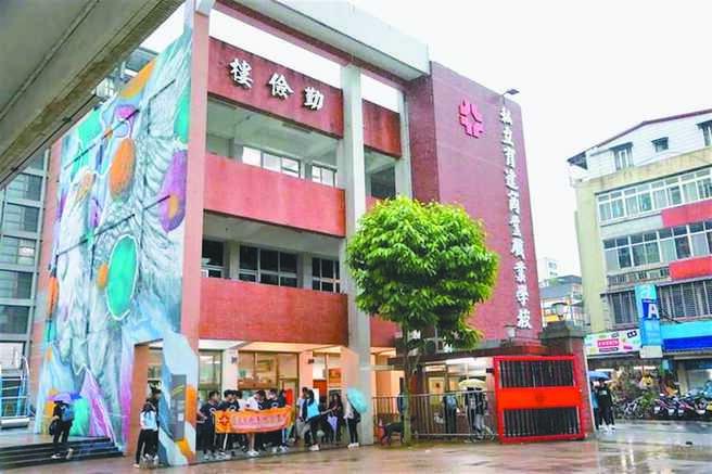 台北市私立育達高職今年6月中改名為「普林斯頓高中」,卻遭校內老師爆料,學校改名和科系停招,都沒有經過校務會議。(摘自育達高職臉書)