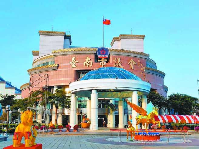 台南縣市合併升格後的台南市議會。(本報資料照片)