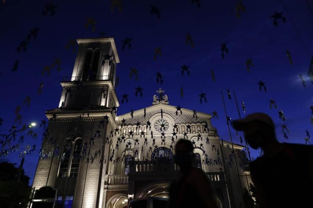 """国际刑事法院发表初步报告,称杜特蒂政府犯下""""危害人类罪""""。图为菲律宾天主教堂。(美联社)(photo:ChinaTimes)"""