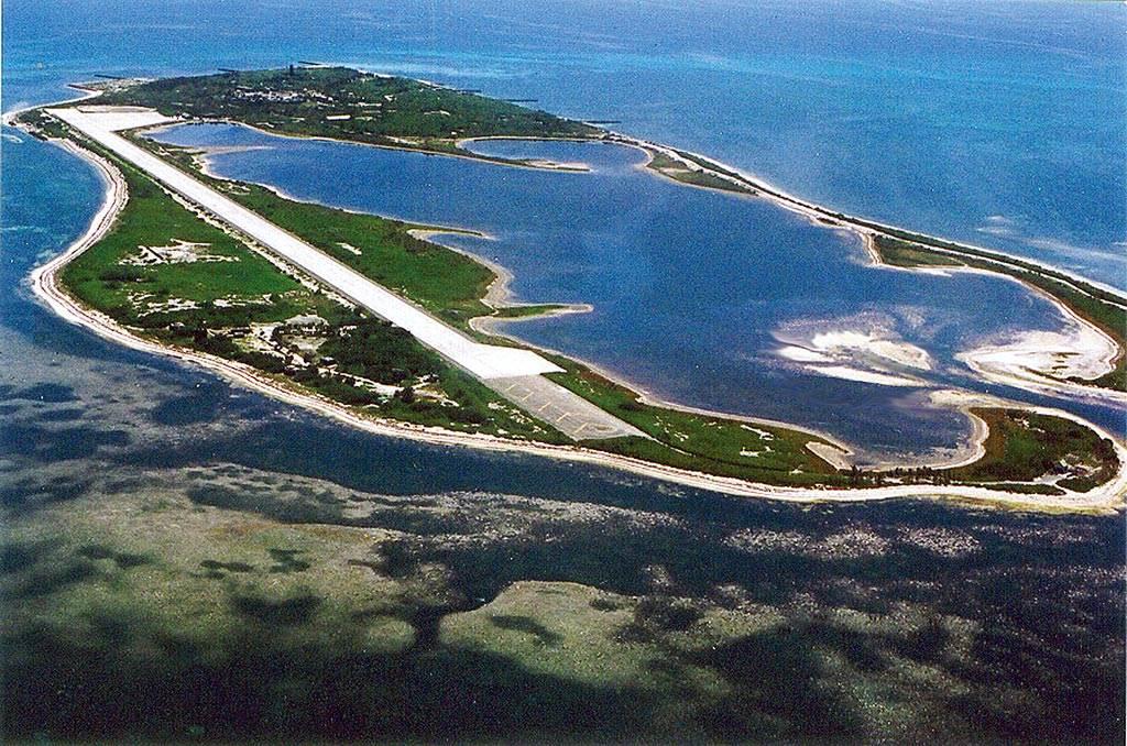 奪取東沙島將是個有限的軍事行動,對美國有震撼作用,對台灣也有教訓的效果,戰事時間短、規模小,不至於擴大為高強度衝突,國際上的影響比較容易處理。(圖/海巡署提供)