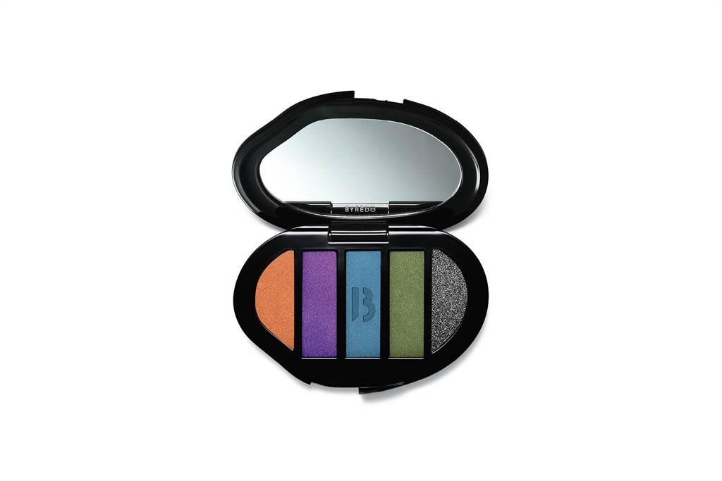 BYREDO五色眼彩盤,2400元。(10/10 APOTHECARY提供)