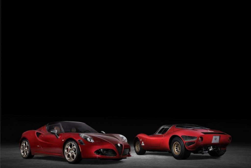 義大利經典終曲 Alfa Romeo限量推出4C Spider 33 Stradale Tributo