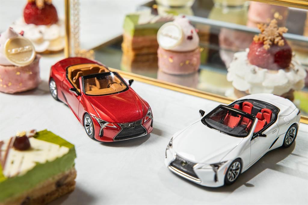 LEXUS首度和台北晶華酒店攜手推出聯名午茶組,邀請到「甜點藝術家」平塚牧人Makito Hiratsuka。