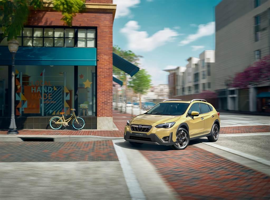 XV新增繽砂黃車色可供選擇。