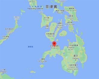 菲律宾民答那峨发生地震 规模6.2