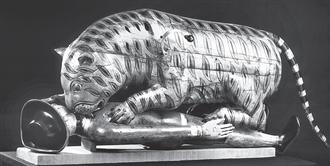 大英帝国最引人注目的博物馆展品之一 蒂普之虎