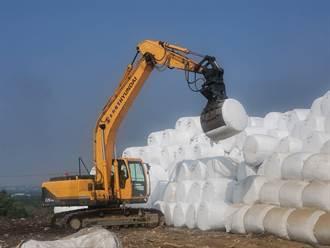 外運垃圾焚化量額度只剩30公噸 雲林預估打包到明年底