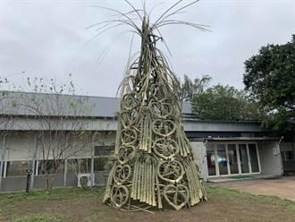 公館推農村跨年體驗 「稻草跨年祈福耶誕樹」搶先曝光
