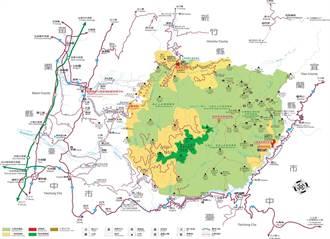 雪霸國家公園計畫檢討 分區界線調整公告實施