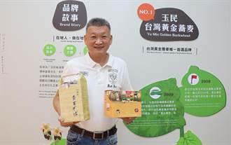 林家寶推廣休耕期種植蕎麥 把台南綠肥變黃金