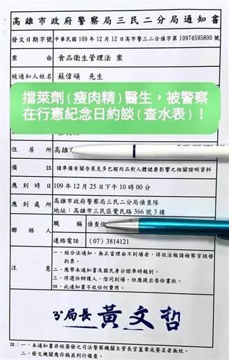 反莱猪医师遭警方「查水表」约谈  警喊冤:是卫福部告发的