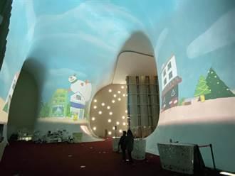 歌劇院熱門打卡景點「光之曲幕」  12月推出耶誕環繞動態影片