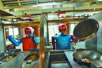 餐飲機器人崛起 陸廚師恐失業