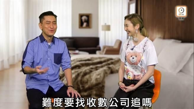 范振鋒(左)爆女星賣淫遭白嫖。(取自東網)