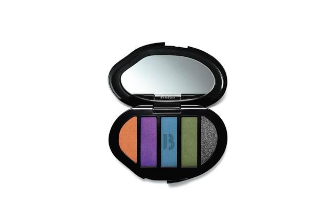 BYREDO五色眼彩盘,2400元。(10/10 APOTHECARY提供)