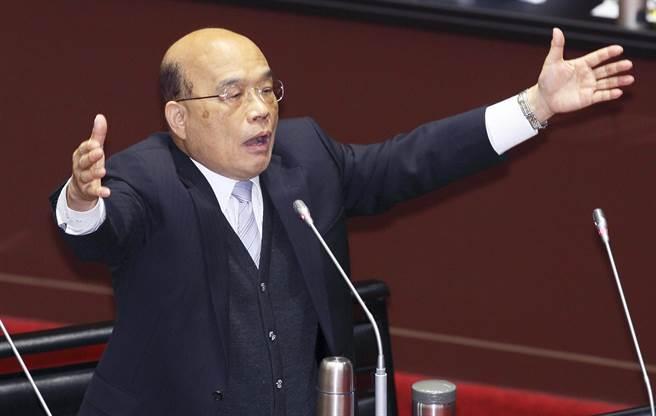 行政院長蘇貞昌(本報資料照)