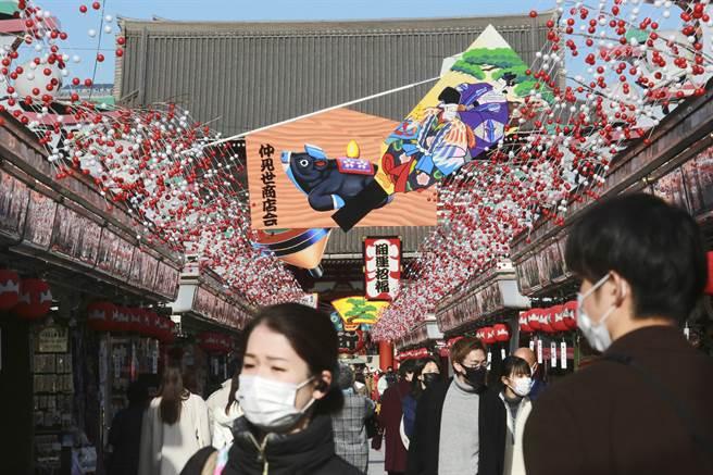 日东京新增678例确诊染疫 再创单日新高纪录。(图/美联社)