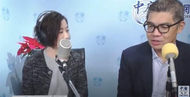 王淺秋和連勝文談韓國瑜遭爆料整形消息。(取自中廣新聞網youtube)