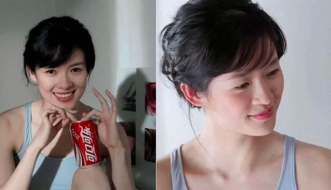 章子怡18歲嫩照被搜出,意外證實她不僅是天然系美女,更神凍齡23年。(圖/ 摘自微博)