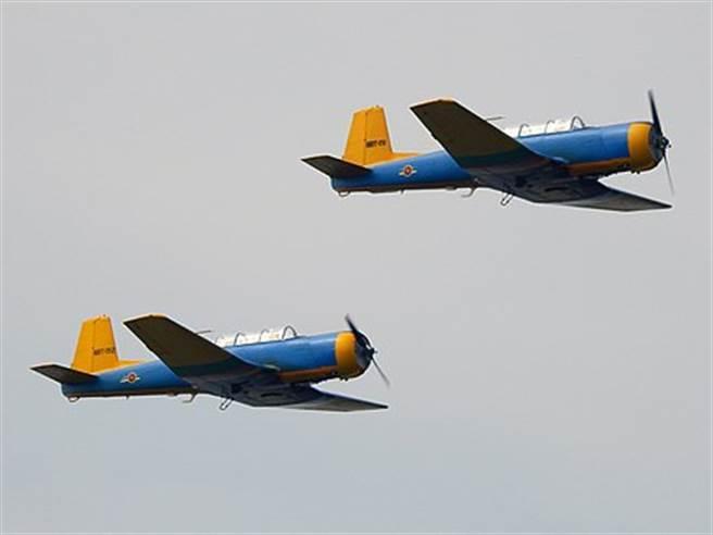 斯里蘭卡空軍初教-6教練機。(圖/維基)
