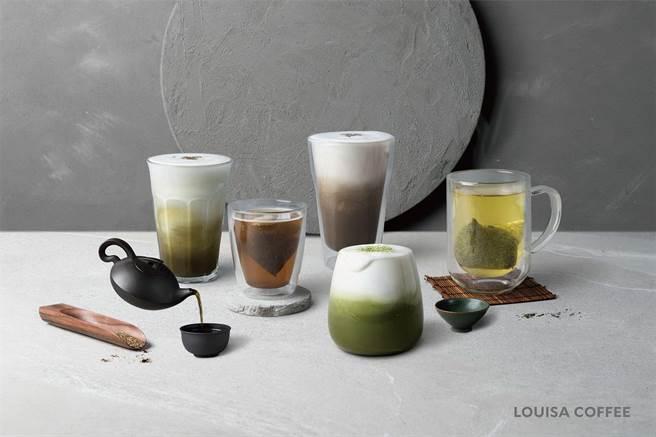 为将职人精神从咖啡延伸至茶饮,路易莎自明年起将京都宇治茶品系列列入常态Menu。(图/路易莎咖啡)