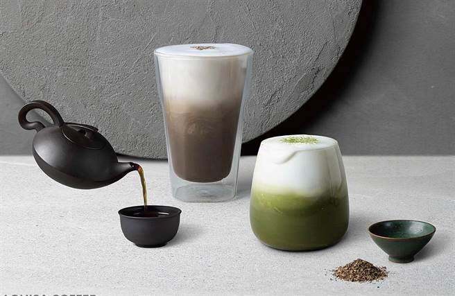 路易莎「100%一番抹茶鲜奶」与「大臣赏冠军茶匠焙茶鲜奶茶」,将列入长期独家贩售menu。(图/路易莎咖啡)