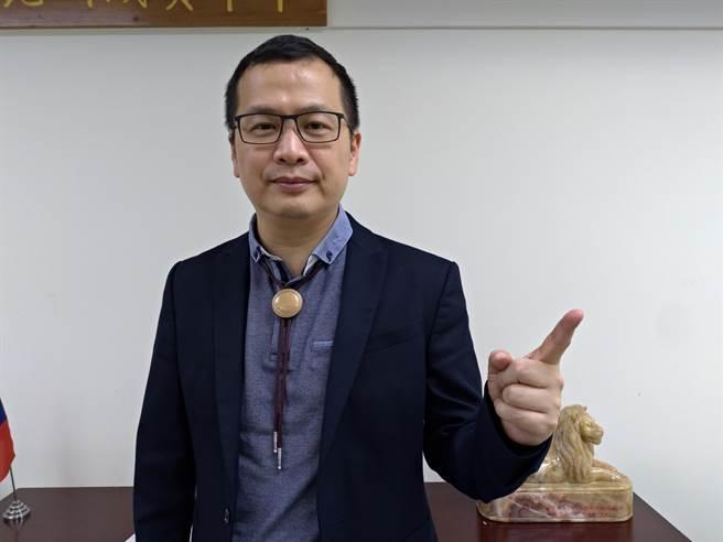 台北市議員羅智強。(資料照/黃福其攝)