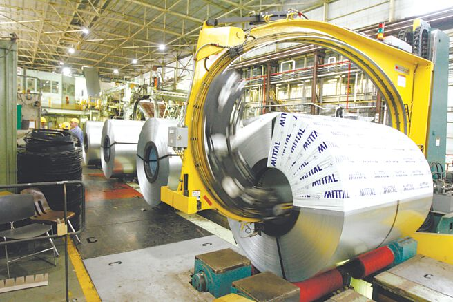 美國鋼鐵廠商近來積極增產,因應來自美國製造商的大量訂單。圖/美聯社