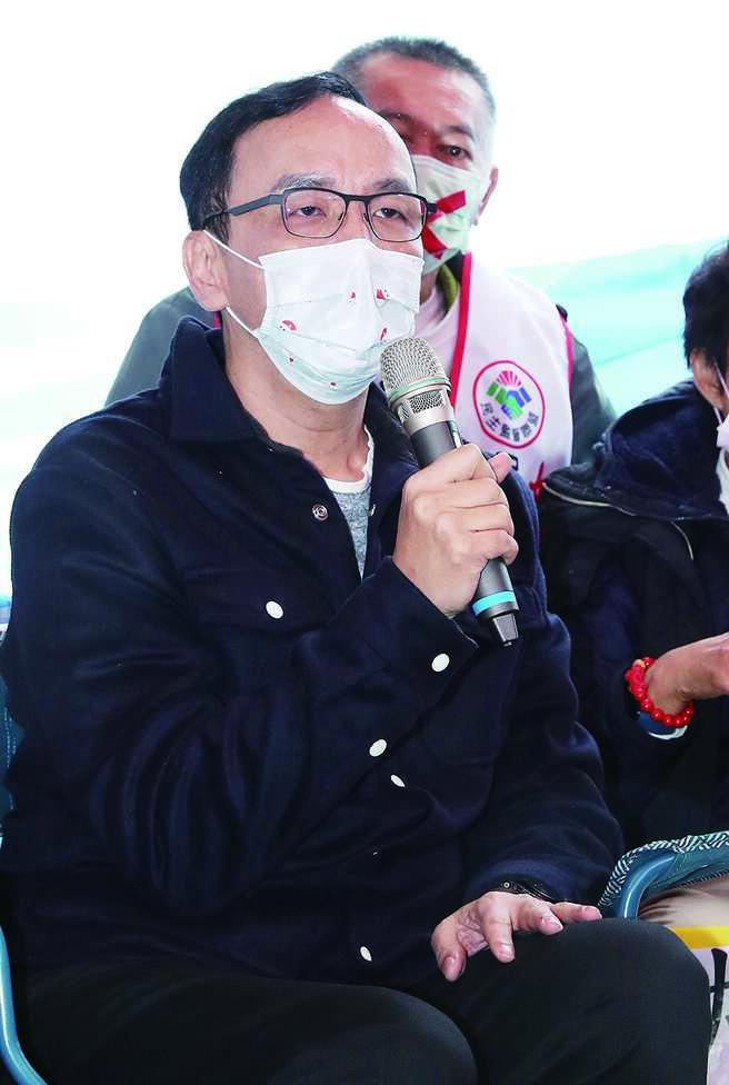 前國民黨主席朱立倫(圖)15日受訪表示,公私不分就是貪汙,蘇揆說購物開統編是糊塗事,但這不是糊塗事,而是錯誤的事情,要徹查。(劉宗龍攝)