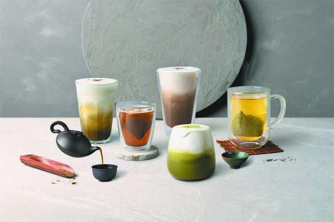 路易莎X冠军森田治秀监制京都宇治茶品,推出优惠45元起。(路易莎提供)