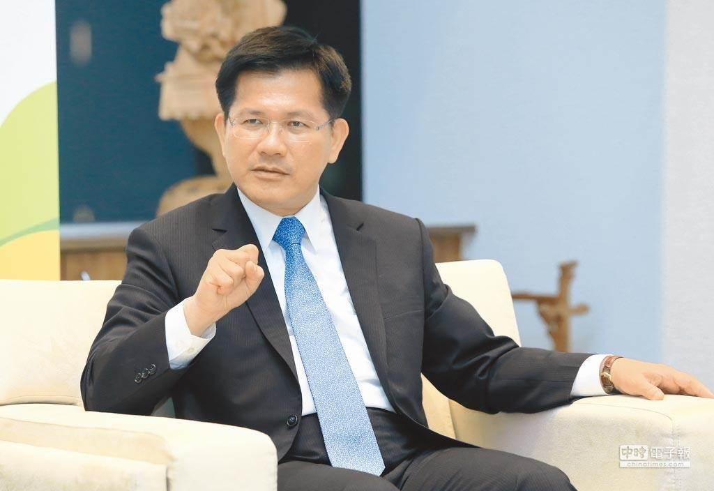 交通部長林佳龍。(圖為資料照)