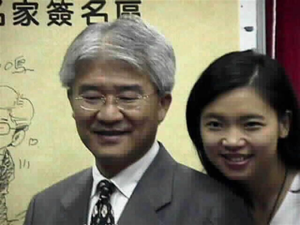 璩美鳳與蔡仁堅曾是戀人。(圖/中時資料照)