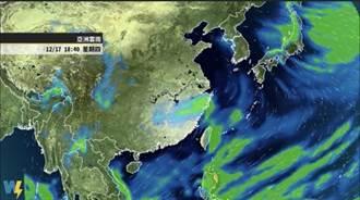 今明兩天稍回暖 明晚另一波冷空氣再增強