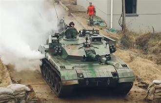 影》陸出動96A型坦克 猛練攻台城市戰