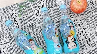 TSUM TSUM來了!氣泡水包裝結合迪士尼經典角色超可愛