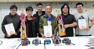 全國機器人競賽 義守大學電子系奪冠、亞軍
